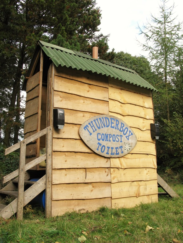 Thunderbox composting toilets are solidly built in Devon